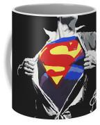 Superman Coffee Mug by Erik Pinto
