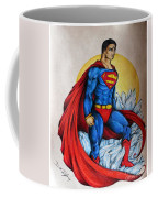 Superman Lives On Coffee Mug