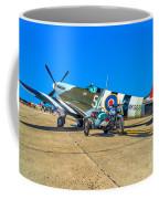 Supermarine Mk959 Spitfire Coffee Mug