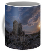Supermoon At Mono Lake Coffee Mug