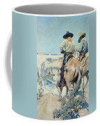 Supply Wagons Coffee Mug by Newell Convers Wyeth