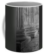Supreme Court Columns Black And White Coffee Mug