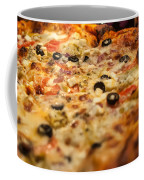 Supreme Meat Works Pizza  Sliced And Ready To Eat Coffee Mug