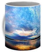 Sureal Pewaukee Lake Sunrise Coffee Mug