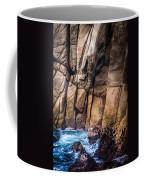 Surf And Cliff Coffee Mug