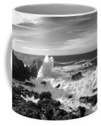Surf At Cambria Coffee Mug