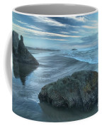 Surf Statues Coffee Mug