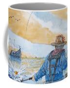 Surf Trout Fishing Coffee Mug
