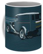 Surf Truck Ocean Blue Coffee Mug