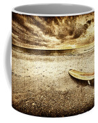 Surfboard On The Beach 2 Coffee Mug