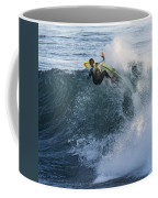 Surfer At Steamer Lane Coffee Mug by Bruce Frye