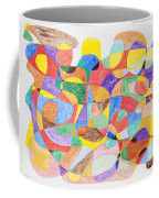 Abstract Dance Party  Coffee Mug