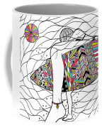 Surfer Girl Coffee Mug by Susan Claire
