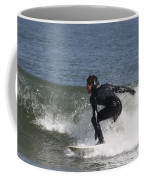 Surfer Hitting The Curl Coffee Mug