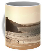 Surfers On Beach 03 Coffee Mug