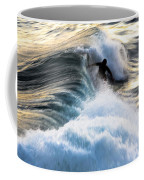 Surfing For Gold Coffee Mug