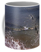 Surfing In Historys Shadow Coffee Mug