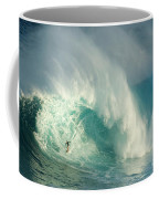 Surfing Jaws 3 Coffee Mug by Bob Christopher