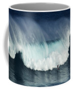 Surfing Jaws Running With Wolves Coffee Mug