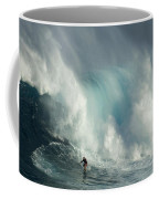 Surfing Jaws The Wild Side Coffee Mug