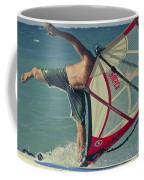 Surfing Kanaha Maui Hawaii Coffee Mug