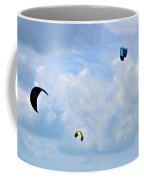 Surfing Kites Coffee Mug
