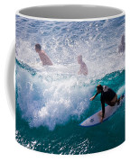 Surfing Maui Coffee Mug