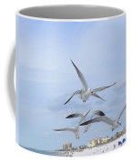 Surfing Party At Clearwater Beach Coffee Mug