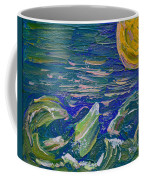 Surfing The Sun Coffee Mug