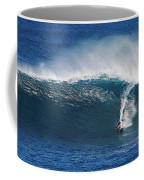 Surfing Waimea Bay Coffee Mug