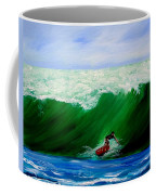Surf's Up Surfing Wave Ocean Coffee Mug