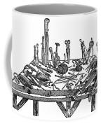 Surgical Instruments, 1567 Coffee Mug