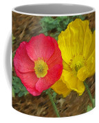 Surprised Poppies Coffee Mug