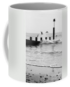 Surprised Seagulls Coffee Mug