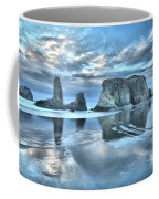 Surreal Beach Swirls Coffee Mug