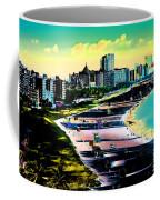 Surreal Colors Of Miami Beach Florida Coffee Mug