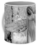 Surreal Dreamy Fantasy Infrared Angel Nature Coffee Mug