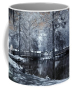 Surreal Dreamy Fantasy Nature Infrared Landscape - Edisto Park South Carolina Coffee Mug