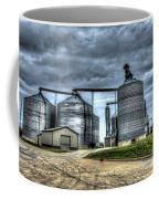 Surreal Grain Coffee Mug