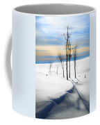 Surreal Snowscape Coffee Mug
