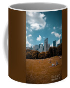 Surreal Summer Day In Central Park Coffee Mug