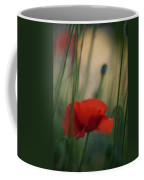 Surrealistic Red Coffee Mug