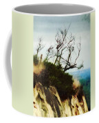 Surviving On The Cliff Top  Coffee Mug