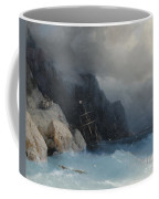 Survivors Of A Shipwreck On A Rocky Path  Coffee Mug