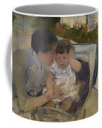 Susan Comforting The Baby Coffee Mug
