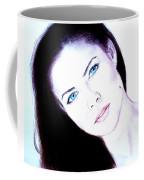 Susan Ward Blue Eyed Beauty With A Mole II Coffee Mug