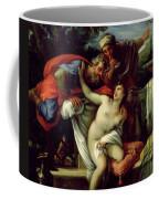 Susanna And The Elders Coffee Mug by Giuseppe Bartolomeo Chiari
