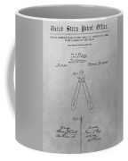 Suspender Patent Drawing Coffee Mug