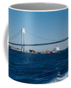 Suspension Bridge Over A Bay Coffee Mug