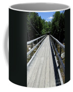 Suspension Bridge Over Pemigewasset River Nh Coffee Mug